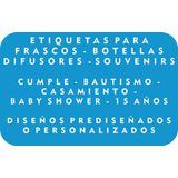 Etiquetas Para Frascos, Botellas, Difusores, Souvenirs!!