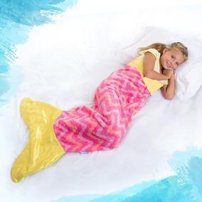 Manta Cola De Sirena Para Niñas De 6 A 14 Años