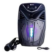 Parlante Portátil Karaoke Bluetooth 30w Micrófono Recargable