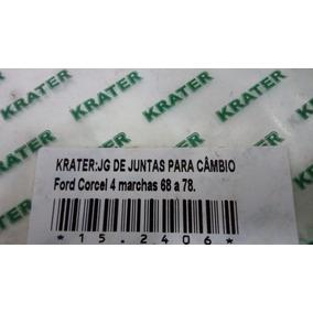 Jogo Junta Cambio Corcel 4 Marchas 68/78 - Krater