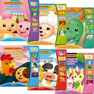 Livros Infantis Coleção Amiguinhos Sonoros Kit Com 6 Livros