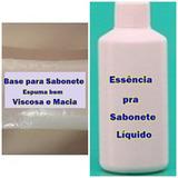 Sabonete Líquido Concentrado Base+essência Faz 10 Litros