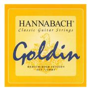 Encordado Guitarra Clasica Hannabach 725mht Goldin