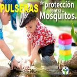 Anti Mosquito Pulsera Repelente De Insectos X 5 Unidades