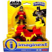 Dc Imaginext Super Friends - Jason Todd Robin & Atv