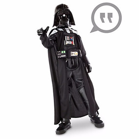 Star Wars Darth Vader Disfraz Sonidos Disney Store 7/8,9/10