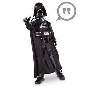 Star Wars Darth Vader Disfraz Sonidos Disney Store 7/8,9/10