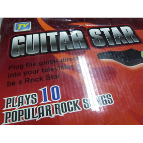 Guitarra Electrica Para Tv Nueva