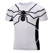 Playeras De Superhéroes Spiderman Capitán América Batman
