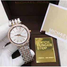Relogio Michael Kors Baguette Bezel Rose Mk5412 Original Classico ... 4904ed8a09