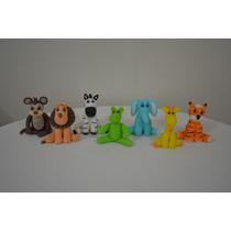 Adorno, Souvenirs Animalitos X 10 U Porcelana Fria-solciarte