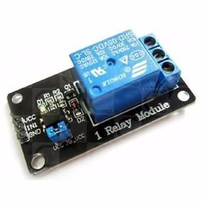 Módulo 1 Un Canal Relevador Rele Relay 5v Arduino