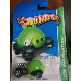 Hotwheels Angry Birds - Minion Hw Imagination 2012