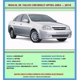 Manual De Taller Reparación Chevrolet Optra 2004-2010