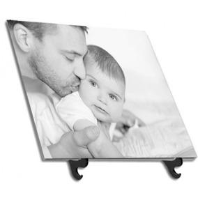 Azulejo Personalizado Porta Retrato Dia Dos Pais 20x20