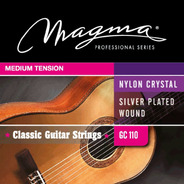Encordado Guitarra Clásica Criolla Magma Gc110 Tensión Media
