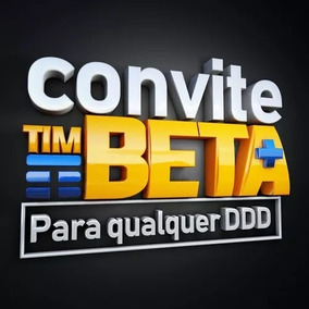 Convite Tim+beta Qualquer Ddd