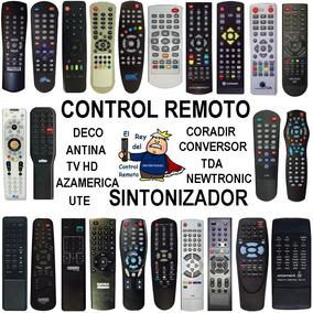 Control Remoto Deco Sintonizador Decodificador Fta Tda Cable