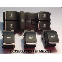 Kit Botones Cromo Vw Bora Control Elevador Botonera Original