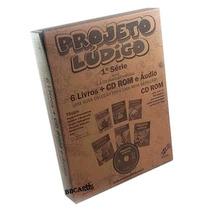 Coleção Pedagógica Projeto Lúdico 1ª Série 6 Livros+ Cd Rom