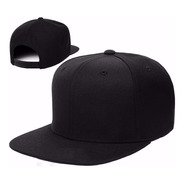 Gorra Plana Snack Pack Unicolor Negro Original