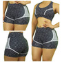 Short Fitness Curto Roupas Academia Ginástica Bermuda Lsfit