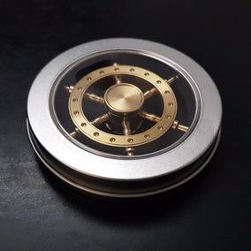 Fidget Spinner Timon Metal Bronce Importado Usa + Caja Metal