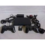 Playstation 2 Excelente Condiciones + Controles Y Accesorios