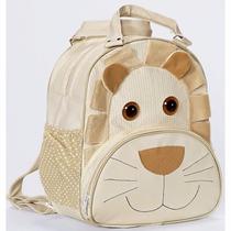 Mochila Infantil- Leão Palha -bolsa Escolar Bebe Bichinho