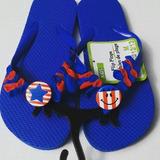 Chancletas Cholas Flip Flop Niños Decoradas #12/13 Unisex