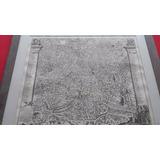 1720 Mapa Antiguo Ciudad Roma Italia Emperador Augusto Cesar