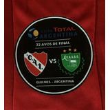 Parche Oficial Partido Independiente-camioneros Copa Argent.