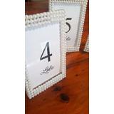 Números De Mesa De Acrilico Portaretratos 15 Casamiento 9x13