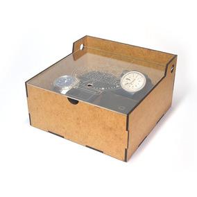 Caja Para 4 Relojes - Fabricarte - Regalos