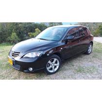 Mazda 3 Hatchback Negro Cojineria En Cuero Llantas Nuevas