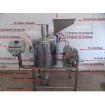 Maquina Produtora De Leite De Soja E Descascador