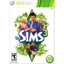 The Sims 3 Xbox 360 Mídia Física