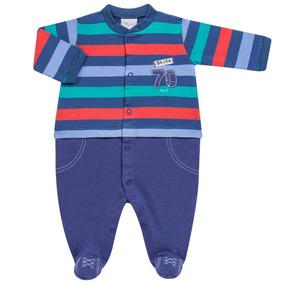 Macacão Longo Para Bebe Em Suedine Skate - Tilly Baby