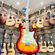 Guitarra Stratocaster Strinberg Sts 100 Cherryburst