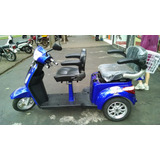 Triciclo Elétrico Para 2 Pessoas Linha Comforto Parc 60x*