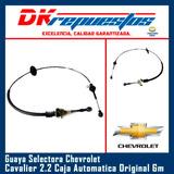 Guaya Selectora Cavalier 2.2 Caja Automatica Original Gm