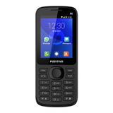 Celular Preto Idoso Bluetooth Botão Whatsapp Lançamento