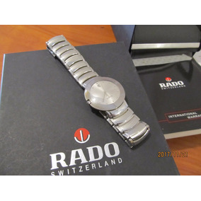 Reloj Rado Diastar Coupole Gris Acero Factura Original