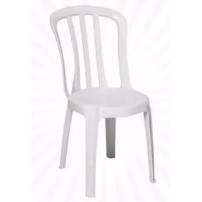 Kit 04 Cadeiras Plasticas Bistrô