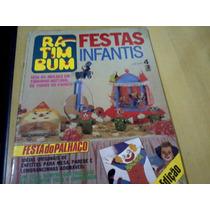 Revista Festas Infantis Ra-tim-bum Nº4 Com Moldes