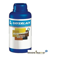 Sayerlack Acquacolor - Preto - Tingidor Base Água - 500ml