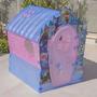 Frozen Disney Casa Plastico Inyectada Original Y A Estrenar