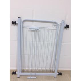 Portão Grade Proteção Pet Criança 70cm + Extensor 15cm