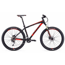 Bicicleta R27.5 Giant Talon 1 2017 Montaña Negra C/ Rojo