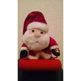 Figura Decorativa Navideña Musical De Santa Claus